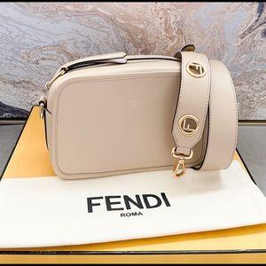 Fendi F Vitello Century Camera Logo Crossbody Bag